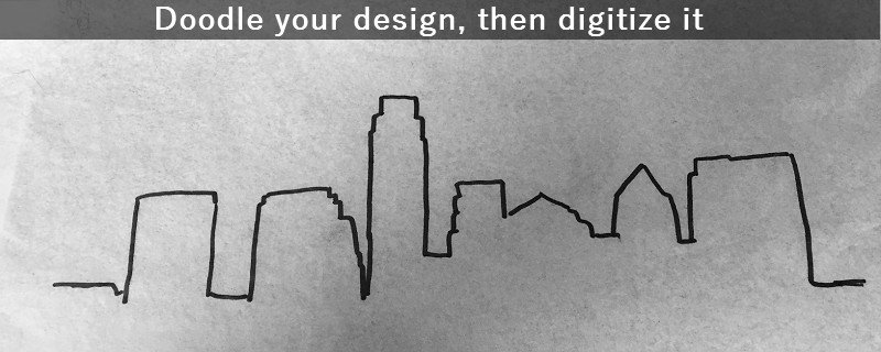 Austin Skyline Outline