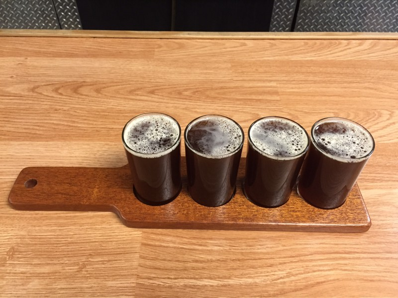 personalized beer flight paddle